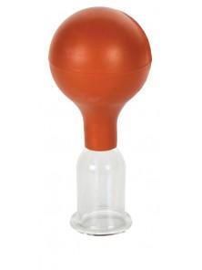 Bańka próżniowa szklana z pompką 2,5 cm